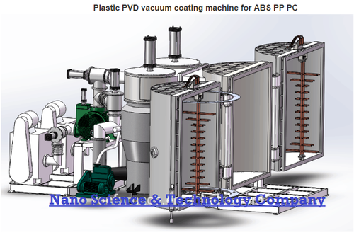 Plastic Vacuum Metalizing Machine Pvd Coating