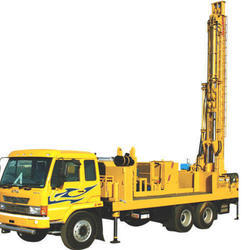 Borewell Truck Drilling Rig Machine
