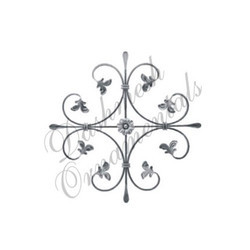 Designer Wrought Iron Rosettes