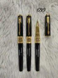 Ballpoint Pen Black & Gold