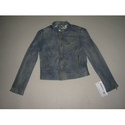 Ladies Suede Leather Jacket
