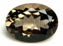 Smoky Quartz Faceted Gemstone