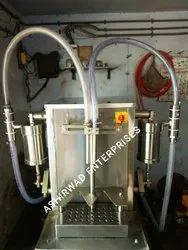 Semi Automatic Lubricant Oil Filling Machine