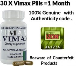 Vimax Pill Vimax Dietary Supplement Capsule Original Canada