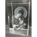 Crystal Mother Marry Engraved