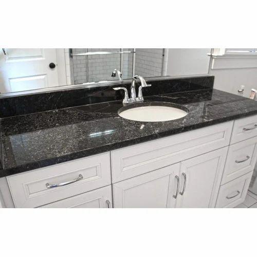Black Pearl Granite Countertop Slab 15 20 Mm