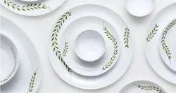 Borosil Larah Opal Glass Dinner Set 26N