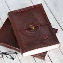 Leather Journal, Handmade Leather Diaries, Leather Notebook, Leather Diaries with Lock