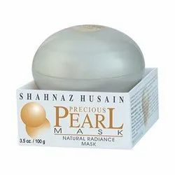 Small Jar Herbal Shahnaz Husain Precious Pearl Mask Plus 100g, Time Used: Day, Normal Skin