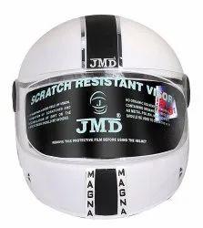 White Magna Full Face Helmet
