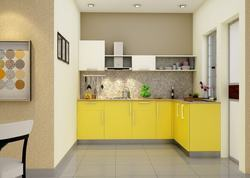 Commercial L-Shaped Modular Kitchen