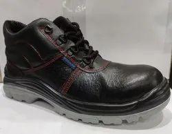 Black Volman VS-21 Safety Shoes, For Industrial