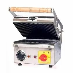 Stainless Steel Sandwich Griller, For Commercial Kitchen