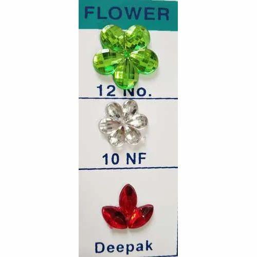 Plastic Stones - Floral Plastic Stones Manufacturer from Mumbai