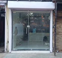 Saint Gobain Swing Patch Fitting Glass Door, For Office, Thickness: 12mm