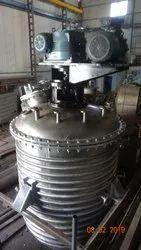 Stainless Steel Reaction Vessel, Capacity: 2-3 KL