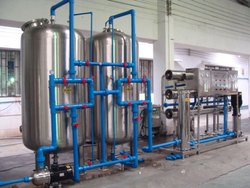 Borewell Water Water Purification Plants, Water Storage Capacity: 1000-4000 L, For Industrial