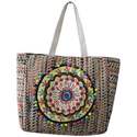 Multicolor Hand Made Embroidered Handbag