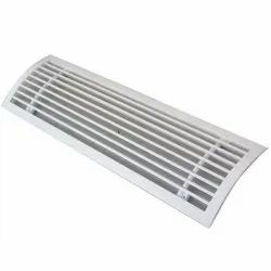 Curved Duct Grille
