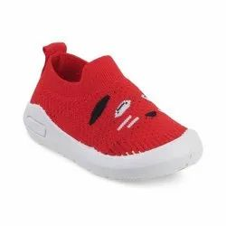 KTG813 RED Kids Slip On Shoes