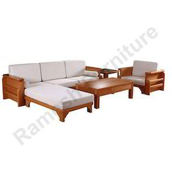 Wooden Living Room Sofa Set