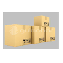 Cardboard Corrugated Boxes, Box Capacity: 5-500 Kg