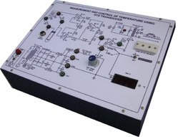 Measurement and Control Of Temperature Using RTD Transducer