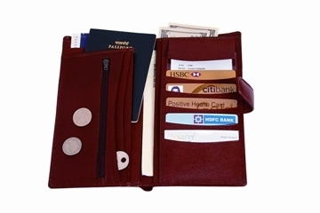 1eb6915e6 Leather Passport Holder
