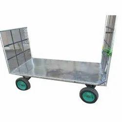 Mild Steel Paint MS Trolley Fabrication Work