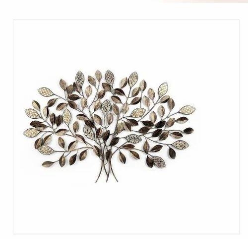 44f559af4d Global Art Metal Leaf Mosaic Wall Tree at Rs 4000 /unit | Wall Decor ...