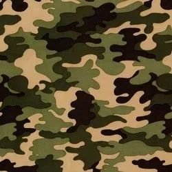 Camouflage Army Print Fabric