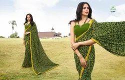 Sanskar Print Shree Vol 5 Georgette Soft Printed Saree