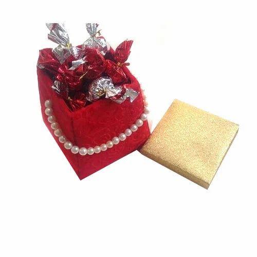 Tree Of Life Red Christmas Chocolate Gift Basket
