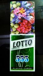 Lotto 555 Playing Cards