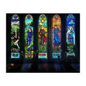 Printed Stained Glass