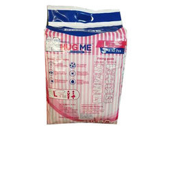 Cotton Disposable Adult Diaper, Packaging Type: Packet