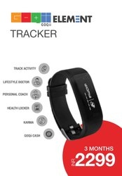 GOQII Elements Fitness Band
