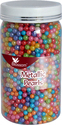 CAKE DECORATING SPRINKLE METALLIC PEARLS