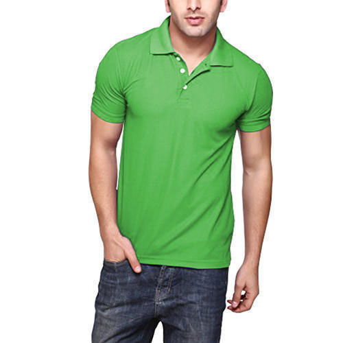 1c2c0b562 Spiel And Green Dry Fit Polo Neck T-Shirt
