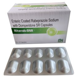 Enteric Coated Rabeprazole Sodium With Domperidone SR Capsules