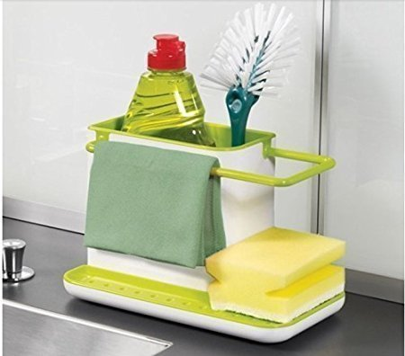 Kitchen Sink Tidy Self Draining Sink Caddy With Base Stand ...