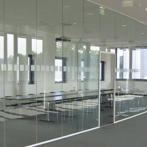 Rectangular Plain Multi Glass Partition