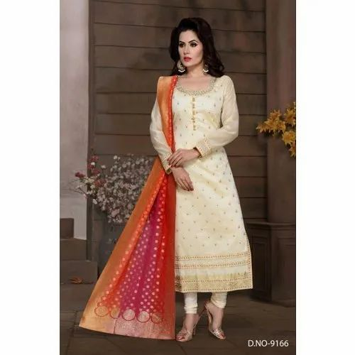 Ladies Long Straight Designer Party Wear Suit Rs 2195 Piece Parshva Sunmuda Id 20638919962