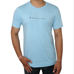 Men Original Round Neck T-Shirt (Sky Blue)