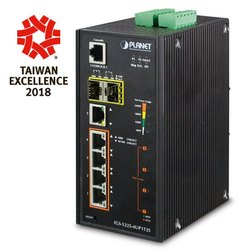 Industrial POE Managed Switch