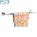 Silver Moca Towel Rod