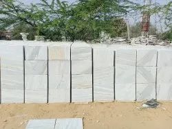 White Makrana Marble Tiles, Thickness: 17 mm, Unit Size: 18*12