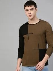 Seven Rocks Hosiery Pattern Design T-Shirt for Men, Size: S to XXL, Age Group: Adult