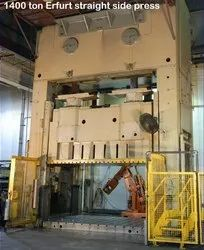 Hydraulic Power Press 50 Ton To 1500 Ton Capacity Reconditioning And Servicing