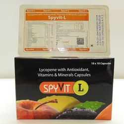 Lycopene with Antioxidant Vitamins and Minerals Capsules